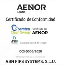 La empresa ABN Pipe Systems obtiene el certificado OCS
